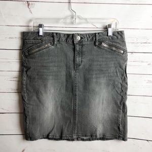 Gap Denim Skirt Size 8 with Stretch